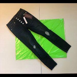 VIGOSS ACE SKINNY Blue Jeans Size W27/L27 NWT
